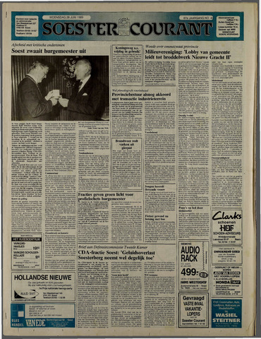 Soester Courant 1989-06-28