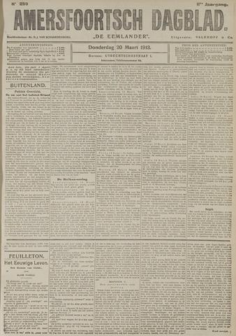 Amersfoortsch Dagblad / De Eemlander 1913-03-20