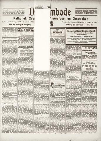 De Eembode 1929-07-30