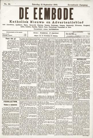 De Eembode 1903-09-12