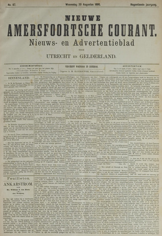 Nieuwe Amersfoortsche Courant 1890-08-20