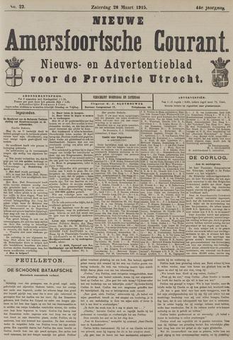 Nieuwe Amersfoortsche Courant 1915-03-20