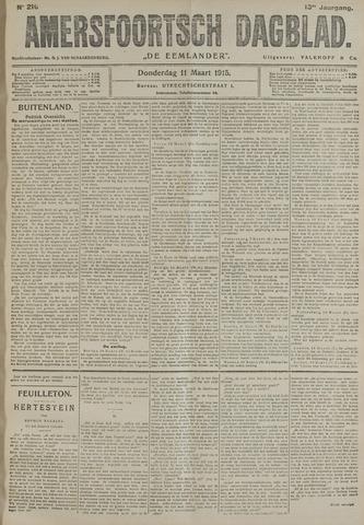 Amersfoortsch Dagblad / De Eemlander 1915-03-11