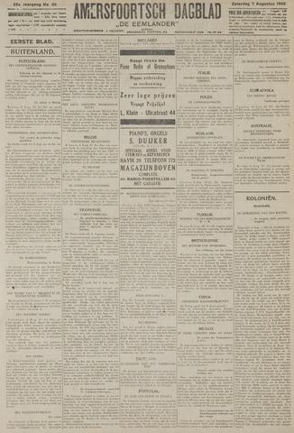 Amersfoortsch Dagblad / De Eemlander 1926-08-07