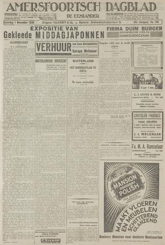 Amersfoortsch Dagblad / De Eemlander 1930-11-01
