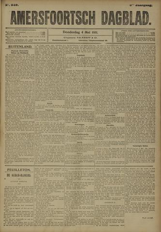 Amersfoortsch Dagblad 1911-05-04
