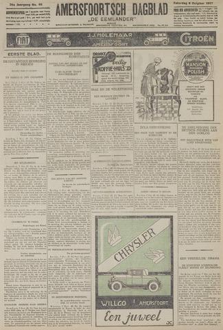 Amersfoortsch Dagblad / De Eemlander 1927-10-08