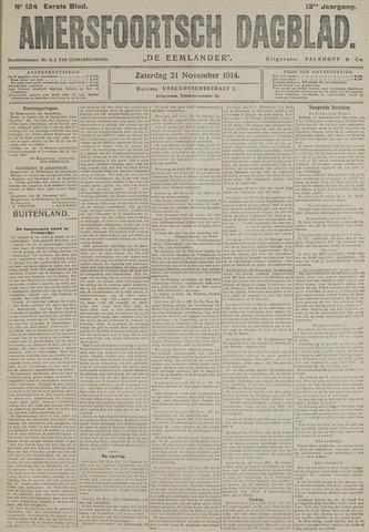 Amersfoortsch Dagblad / De Eemlander 1914-11-21