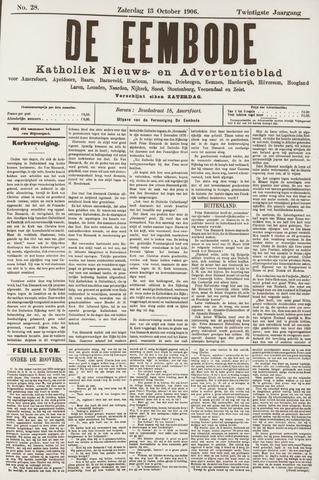 De Eembode 1906-10-13