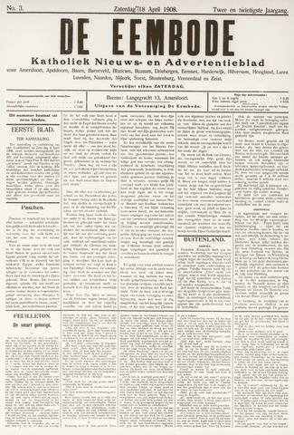 De Eembode 1908-04-18
