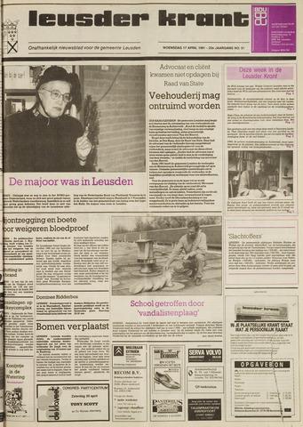 Leusder Krant 1991-04-17