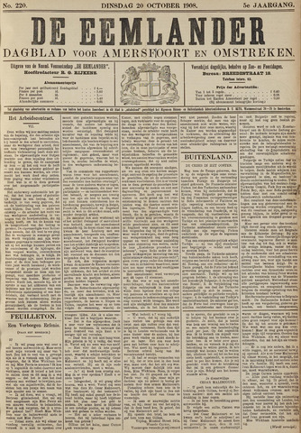 De Eemlander 1908-10-20