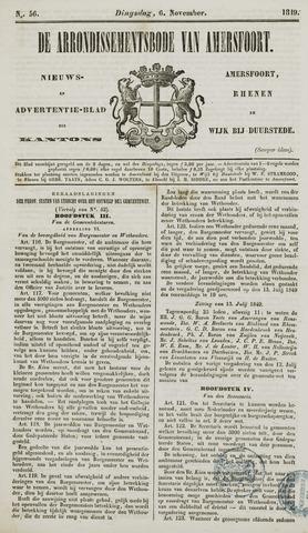 Arrondissementsbode van Amersfoort 1849-11-06