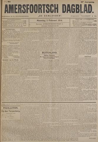 Amersfoortsch Dagblad / De Eemlander 1914-02-02