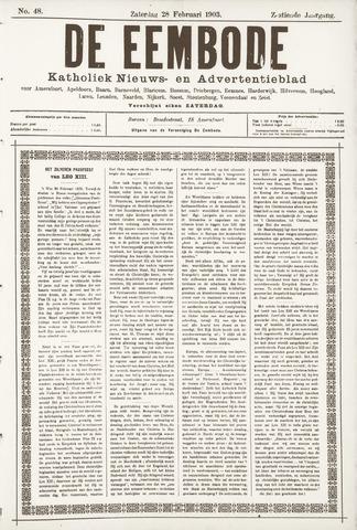 De Eembode 1903-02-28