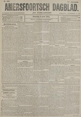 Amersfoortsch Dagblad / De Eemlander 1914-06-09
