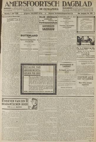 Amersfoortsch Dagblad / De Eemlander 1930-06-02