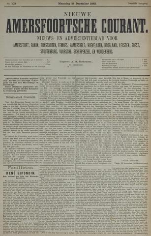 Nieuwe Amersfoortsche Courant 1883-12-24