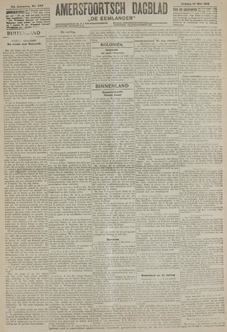 Amersfoortsch Dagblad / De Eemlander 1918-05-10