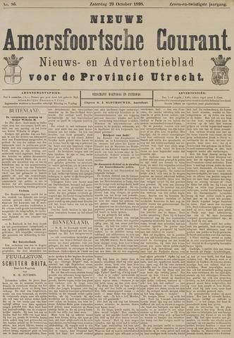 Nieuwe Amersfoortsche Courant 1898-10-29