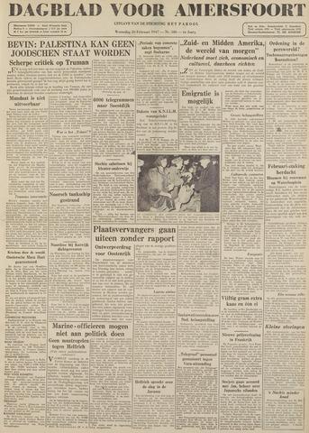 Dagblad voor Amersfoort 1947-02-26