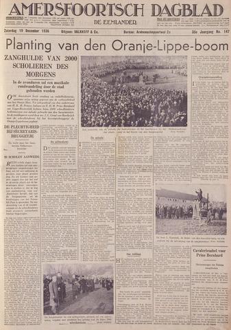Amersfoortsch Dagblad / De Eemlander 1936-12-19