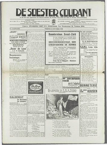 Soester Courant 1938-10-14