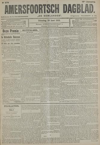 Amersfoortsch Dagblad / De Eemlander 1915-06-29