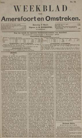 Weekblad voor Amersfoort en Omstreken 1873-03-08