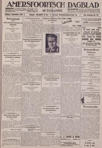 Amersfoortsch Dagblad / De Eemlander 1934-09-07
