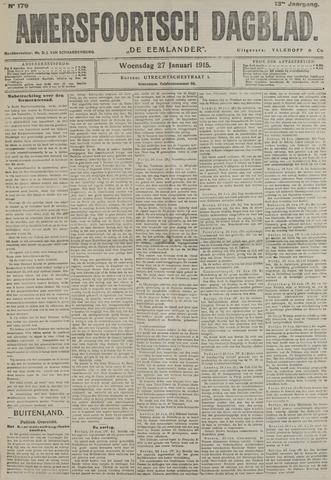Amersfoortsch Dagblad / De Eemlander 1915-01-27