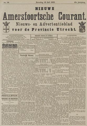 Nieuwe Amersfoortsche Courant 1912-07-13