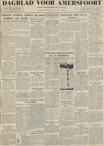 Dagblad voor Amersfoort 1947-11-06