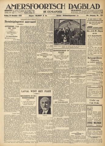 Amersfoortsch Dagblad / De Eemlander 1935-11-29