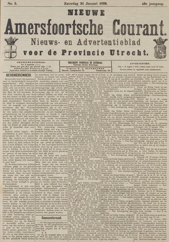 Nieuwe Amersfoortsche Courant 1920-01-31