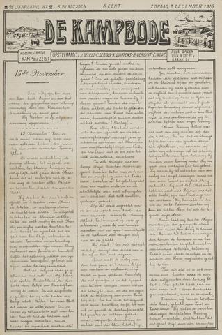 De Kampbode 1916-12-03