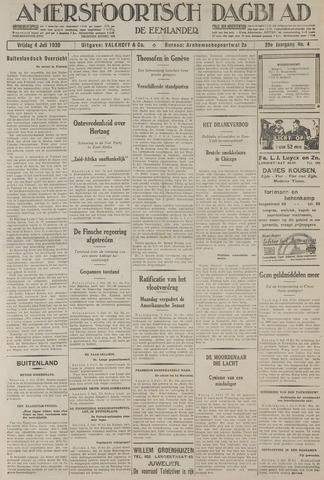 Amersfoortsch Dagblad / De Eemlander 1930-07-04