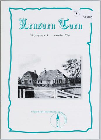 Historische Kring Leusden 2004-11-01