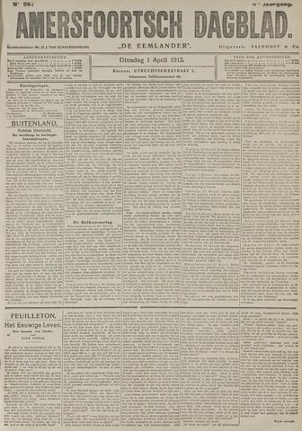 Amersfoortsch Dagblad / De Eemlander 1913-04-01