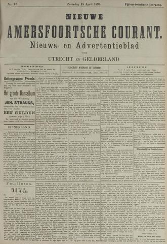 Nieuwe Amersfoortsche Courant 1896-04-18