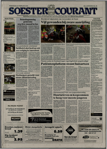 Soester Courant 2005-02-23