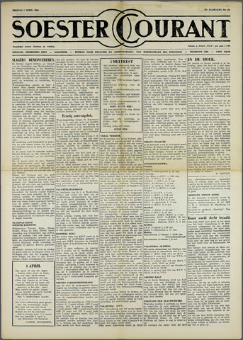 Soester Courant 1960-04-01