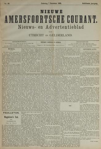Nieuwe Amersfoortsche Courant 1889-12-07