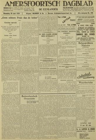 Amersfoortsch Dagblad / De Eemlander 1934-06-20