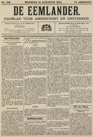 De Eemlander 1910-08-15