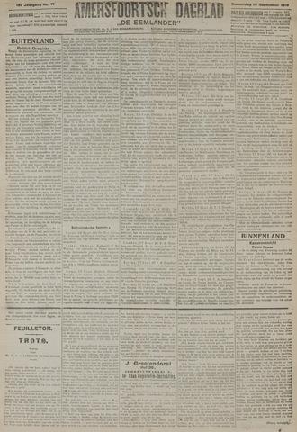 Amersfoortsch Dagblad / De Eemlander 1919-09-18