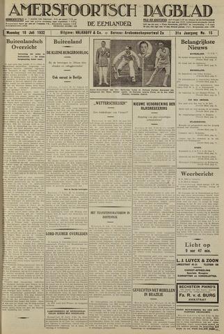Amersfoortsch Dagblad / De Eemlander 1932-07-18