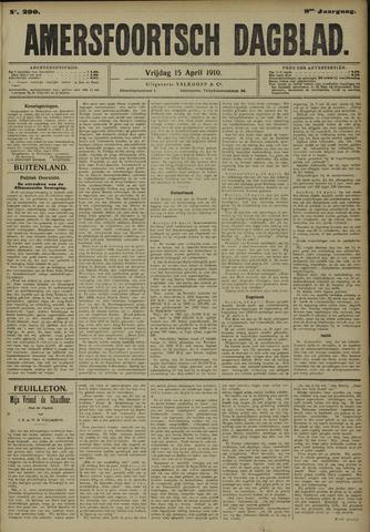 Amersfoortsch Dagblad 1910-04-15