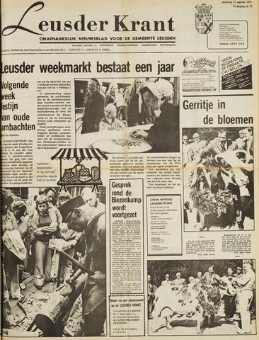 Leusder Krant 1974-08-22