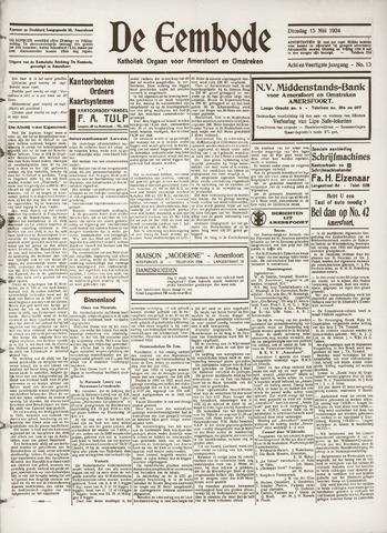 De Eembode 1934-05-15